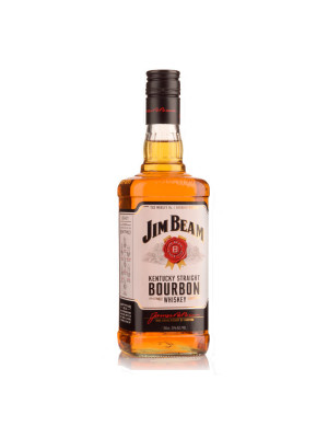 JIM BEAM WHITE BOURBON WHISKY 1L