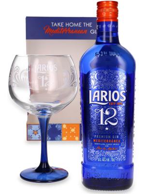 LARIOS 12 PREMIUM GIN 0.7L + PAHAR