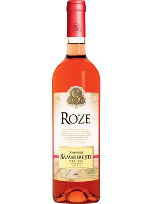 DOMENIILE SÂMBUREȘTI ROSE 0.75L