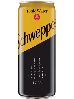 SCHWEPPES KINLEY TONIC 0.33L