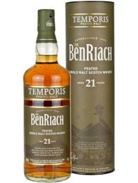 THE BENRIACH PEATED TEMPORIS 21 Y.O. 0.7L