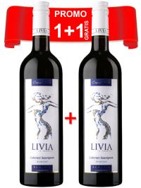 CRAMA GÎRBOIU - LIVIA CABERNET SAUVIGNON 0.75L X 2