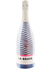 CAVA LA-BRAVA ROSE BRUT 0.75L