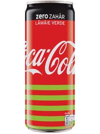 COCA-COLA ZERO LIME 0.33L