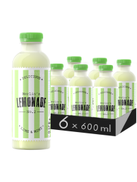 MERLIN'S LEMONADE N0.2 - LIME & MENTĂ 0.6L X 6