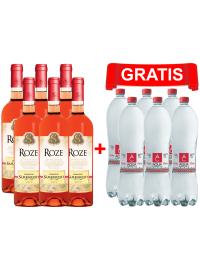 PACHET PROMO SÂMBUREȘTI ROSE 0.75L X 6