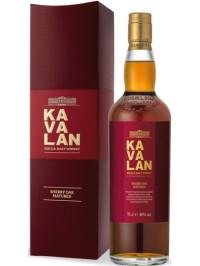 KAVALAN EX-SHERRY OAK SINGLE MALT 0.7L