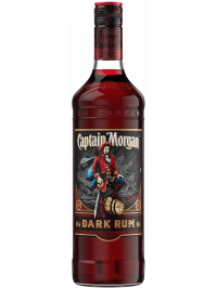 CAPTAIN MORGAN BLACK LABEL - DARK RUM 0.7L