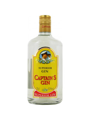 CAPTAIN'S GIN – SUPERIOR GIN 0.7L
